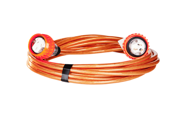 BRAIDED EXTENSION LEAD