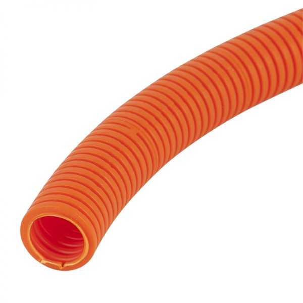 CORRUGATED CONDUIT ORANGE