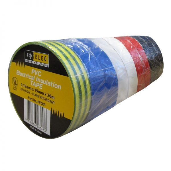 ELECTRICAL TAPE RAINBOW PACK