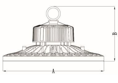 LED High Bay – Premium UFO Series 150W 1